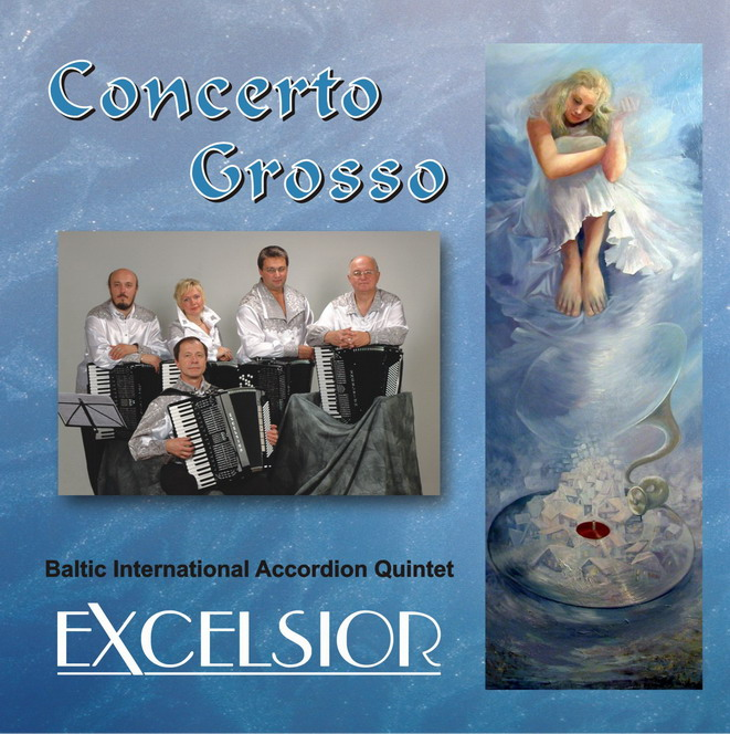 Квинтет ''Эксельсиор''. Concerto Grosso''. CD